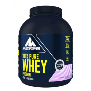 Multipower 100% Pure Whey Protein Blueberry Yogurt Can (2000g)