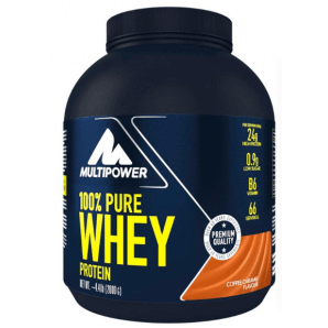 Multipower 100% Pure Whey Protein Coffee Caramel Can (2000g)