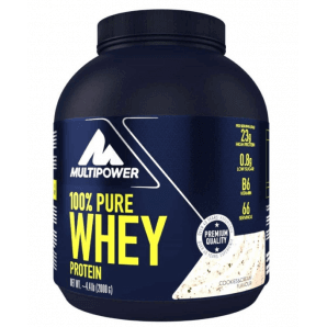 Multipower 100% Pure Whey Protein Cookies & Cream Can (2000g)