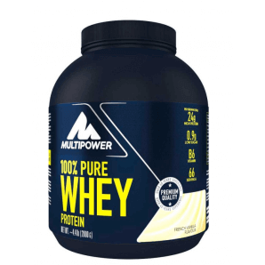 Multipower 100% Pure Whey Protein French Vanilla Can (2000g)