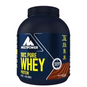 Multipower 100% Pure Whey Protein Rich Chocolate Can (2000g)