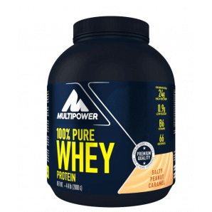 Multipower 100% Pure Whey Protein Salty Peanut Caramel Dose (2000g)