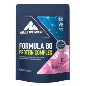 Multipower Formula 80 Protein Complex Blueberry Yoghurt Bag (510g)