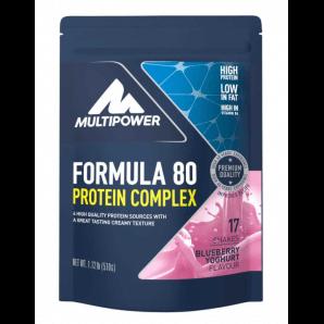 Multipower Formula 80 Protein Complex Blueberry Yogurt Pouch (510 g)