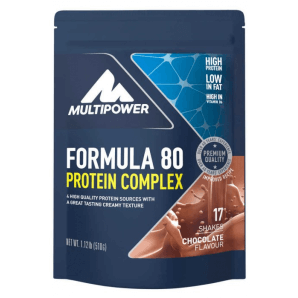 Multipower Formula 80 Protein Complex Chocolate Bag (510g)