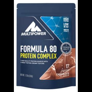 Multipower Formula 80 Protein Complex Chocolate Beutel (510g)