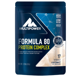 Multipower Formula 80 Protein Complex Coconut Pouch (510 g)