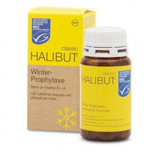 Halibut Classic Winter Prohylaxis Capsules (120 pcs)