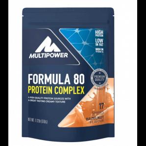 Multipower Formula 80 Protein Complex Hazelnut Beutel (510g)