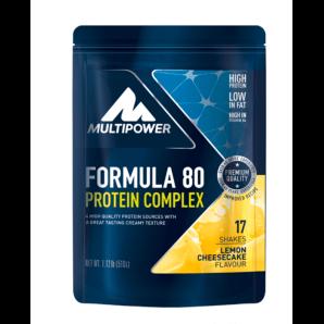 Multipower Formula 80 Protein Complex Lemon Cheesecake Bag (510g)