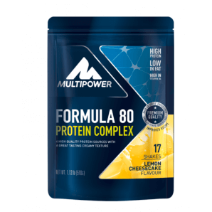 Multipower Formula 80 Protein Complex Lemon Cheesecake Beutel (510g)