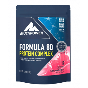 Multipower Formula 80 Protein Complex Strawberry sachet (510g)