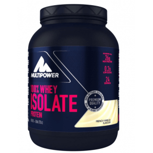 Multipower 100% Whey Isolat Protein French Vanilla Can (725 g)
