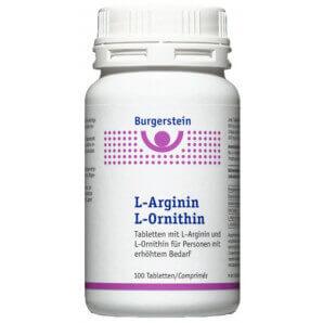Burgerstein L-Arginin L-Ornithin (100 Stk)