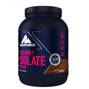 Multipower 100% Whey Isolate Protein Rich Chocolate Can (725g)
