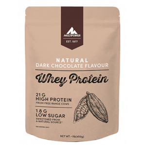 Multipower Whey Protein Natural Dark Chocolate Bag (450g)