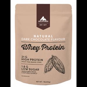 Multipower Whey Protein Natural Dark Chocolate Beutel (450g)
