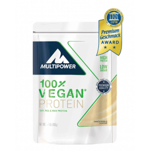 Multipower Vegan Protein French Vanilla Bag (450g)