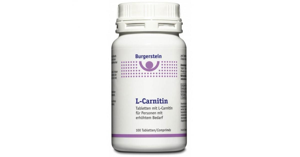 Burgerstein L-Carnitin (100 Stk)