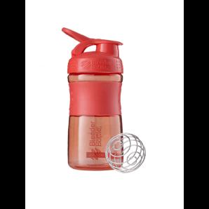 BlenderBottle Sport Mixer Tritan Grip Coral (590ml)
