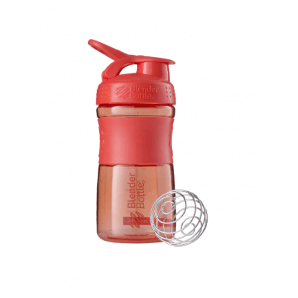 BlenderBottle Sport Mixer Tritan Grip Coral (590ml)