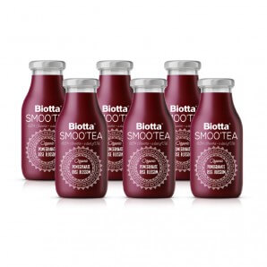 Biotta SmooTea pomegranate rose petals (6x2.5dl)