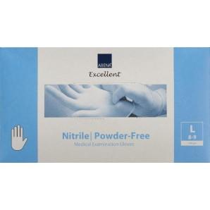 ABENA Nitril Handschuhe L puderfrei 100 Stk.