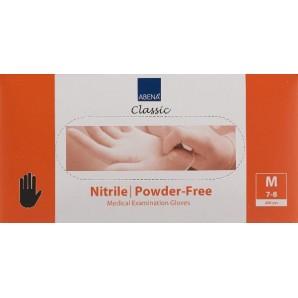 ABENA Nitril Handschuhe M puderfrei schwarz 200 Stk.