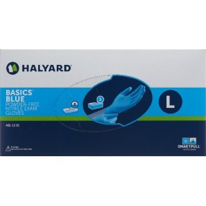 HALYARD Nitril Handschuhe L blau 200 Stk.