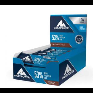 Multipower 53% Protein Bar Chocolate Cream (24x50g)