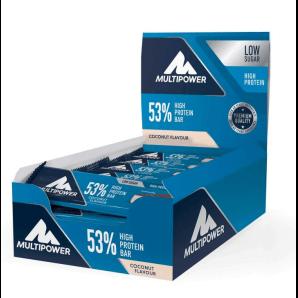 Multipower 53% Protein Bar Coconut (24x50g)