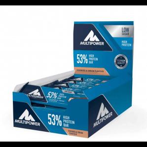 Multipower 53% Protein Bar Cookies & Cream (24x50g)