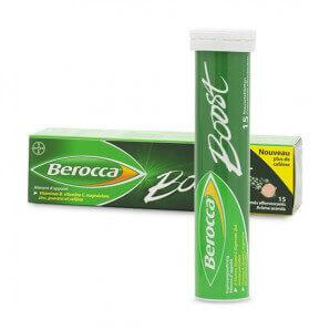 Berocca Comprimés effervescents Boost (15 pièces)