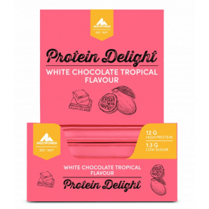 Multipower Protein Delight White Chocolate Tropical (18x35g)