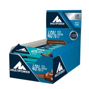 Multipower 40% Protein Fit Chocolate Almond (24x35g)