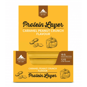 Multipower Protein Layer Caramel Peanut Crunch (18x50g)