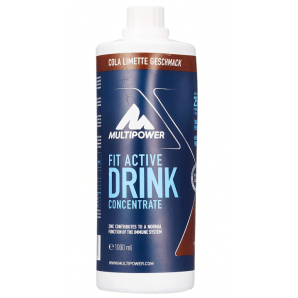 Multipower FIT ACTIVE drink concentrate Cola (1000ml)