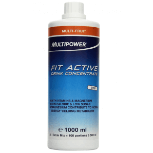 Multipower FIT ACTIVE Drink Concentrate Multifruit (1000ml)