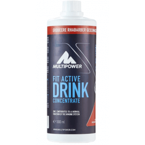 Multipower FIT ACTIVE Drink Konzentrat Strawberry Rhubarb (1000ml)