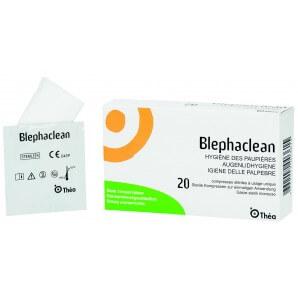 Blephaclean Kompresse steril (20 Stk)