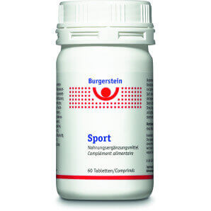 Burgerstein sports capsules (60 pcs)