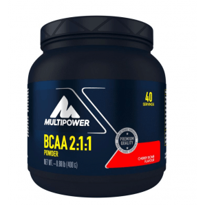 Multipower BCAA Powder Cherry Bomb Can (400g)