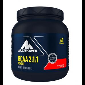 Multipower BCAA Powder Cherry Bomb Dose (400g)