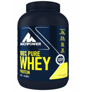 Multipower 100% Pure Whey Protein Banana Mango Can (900g)
