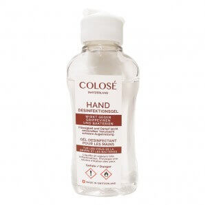 Colosé hand disinfectant...