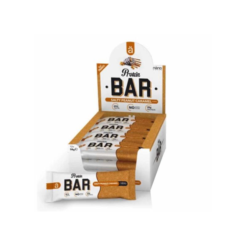 Nanosupps Protein Bar Salty Peanut Caramel (12x60g)