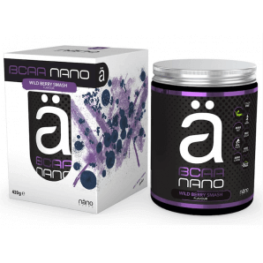 Nanosupps NANO BCAA Wildberry Smash (420g)