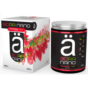 Nanosupps NANO BCAA Strawberry Basil (420g)