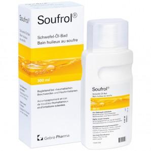 Soufrol Bain huileux au soufre (300ml)