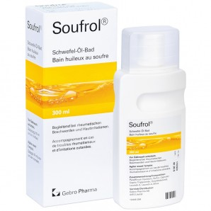 Soufrol sulfur oil bath (300ml)